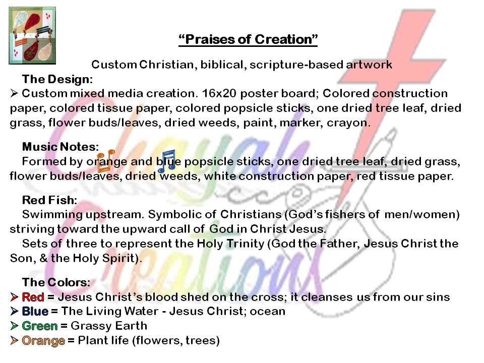 Praises of Creation
